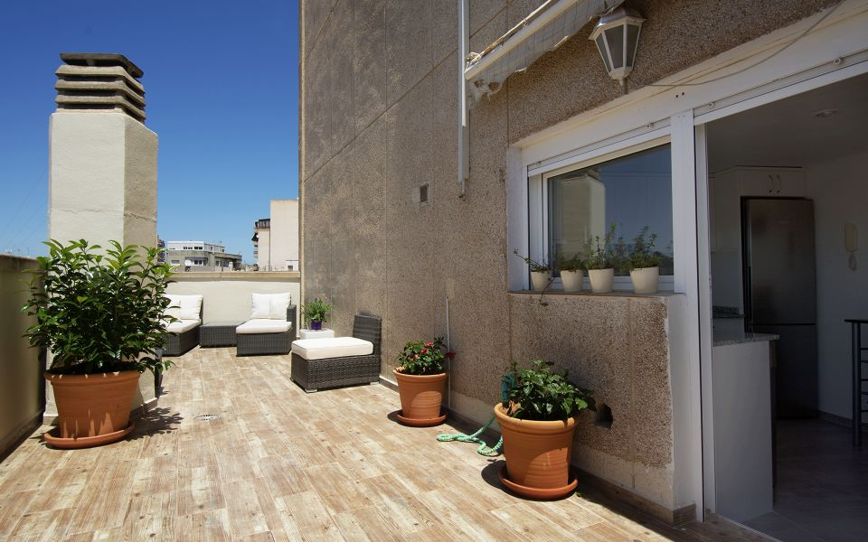 Renovated 2 Bedrooms Penthouse With Terrace In Ave óscar